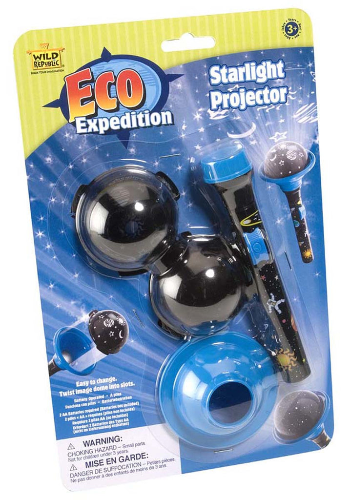 Eco Expedition Starlight Projector - Astronomy Flashlight