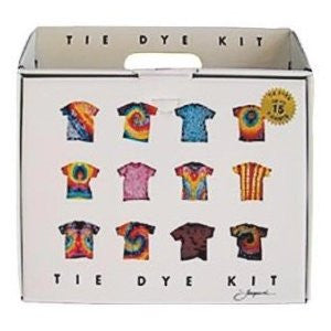 Premium Jacquard Tie Dye Kit for 10-15 Shirts w/ DVD - Off The Wall Toys and Gifts