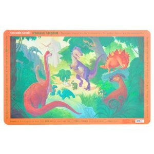 Dinosaur Kingdom Placemat by Crocodile Creek - Off The Wall Toys and Gifts