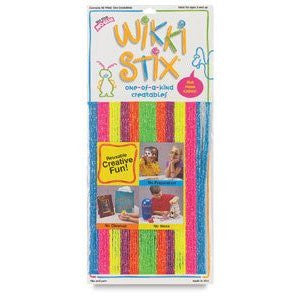 NEON Wikki Stix 48 Pc Creative Craft Fun - Off The Wall Toys and Gifts