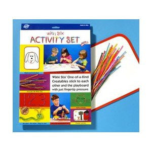 Wikki Stix ACTIVITY SET: 84 Pc Creative Craft Learning Fun - Off The Wall Toys and Gifts