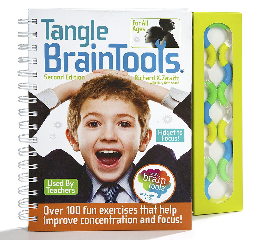Tangle BrainTools Second Edition Book and Tangle Toy