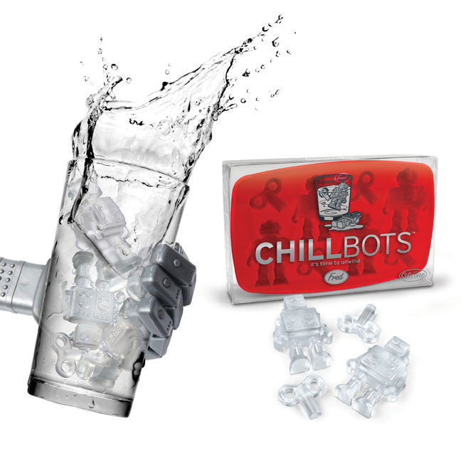 CHILLBOTS Robot Ice Cube Mold Tray from Fred - Off The Wall Toys and Gifts