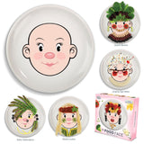 Ms. Food Face - Design a Face Plate - Girl's Style - Off The Wall Toys and Gifts