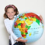 Giant Inflatable World /Earth Globe 20 inches - Off The Wall Toys and Gifts