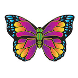 X-Kite Mini Nylon Kite w String- BUTTERFLY- 22 Inch Wingspan - Off The Wall Toys and Gifts