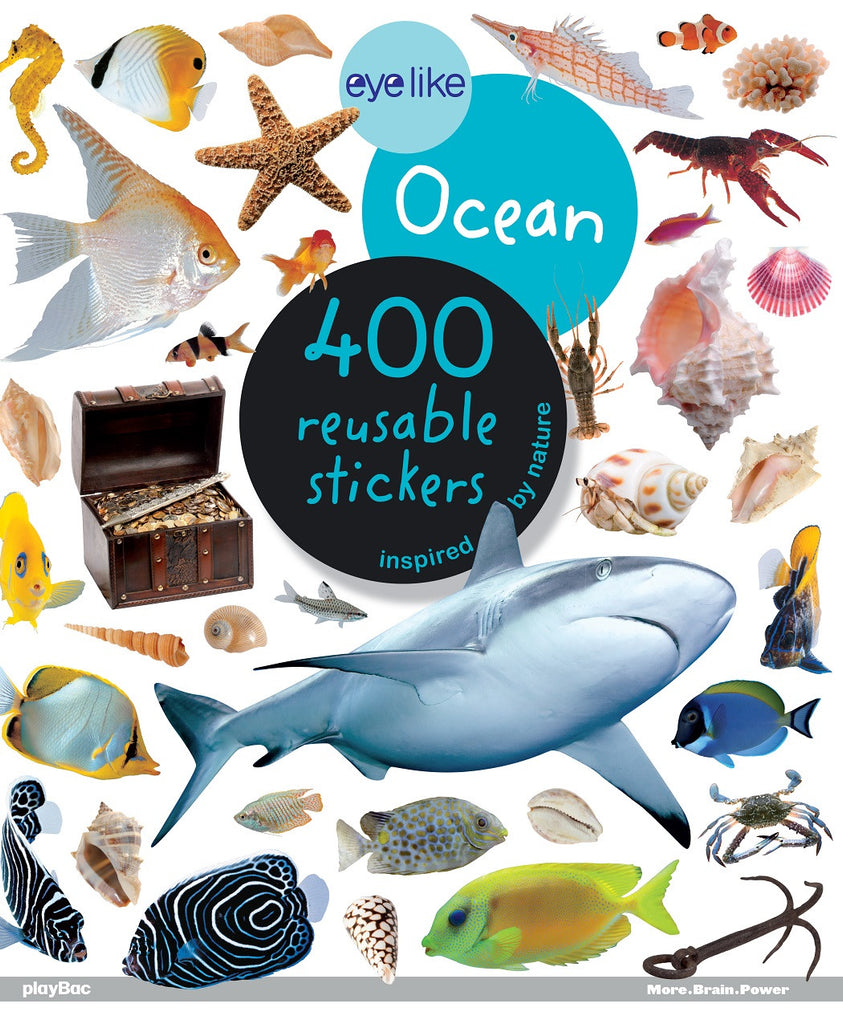 Eyelike Sticker Book: Ocean Discovery w/400 Reusable Stickers