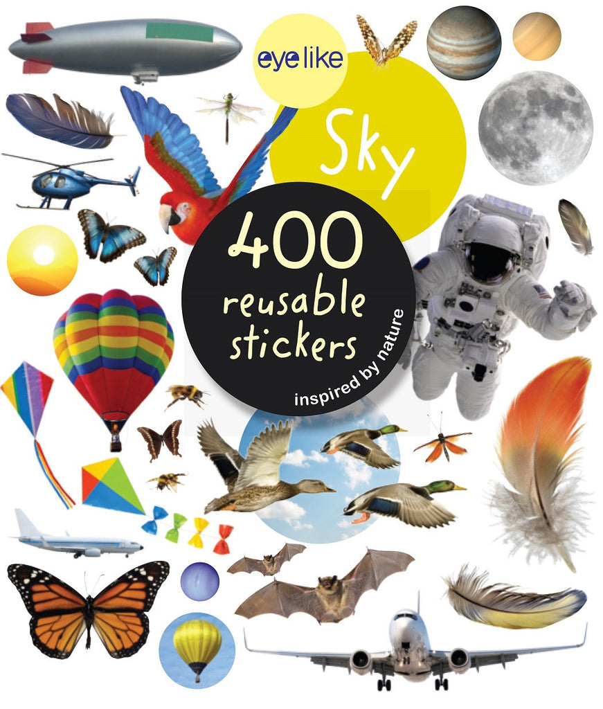 Eyelike Sticker Book: Sky Exploration w/400 Reusable Stickers