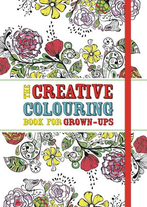 Creative Colouring Book for Grown-Ups - Off The Wall Toys and Gifts