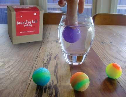 Do it Yourself Bouncing Ball Workshop Activity Kit - Off The Wall Toys and Gifts