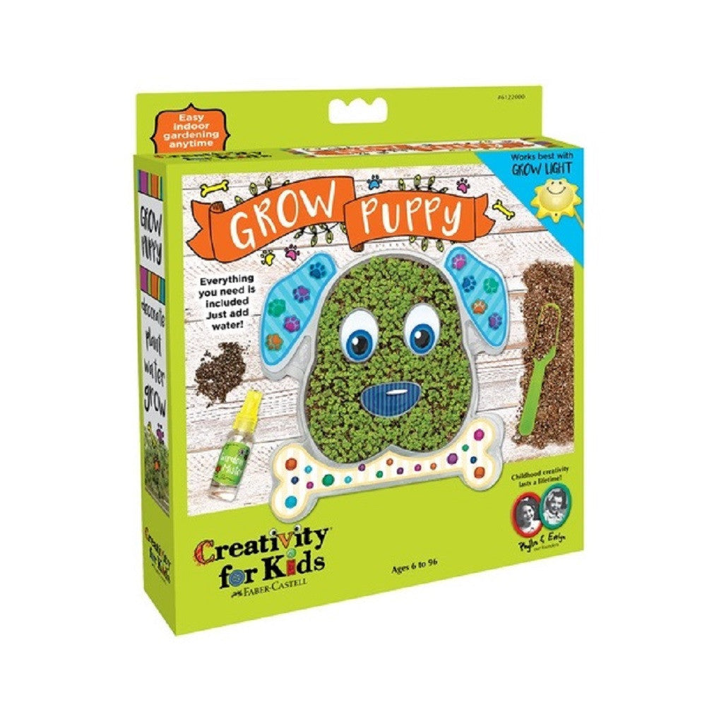 Creativity for Kids - Grow Puppy Planting Kit by Faber-Castell