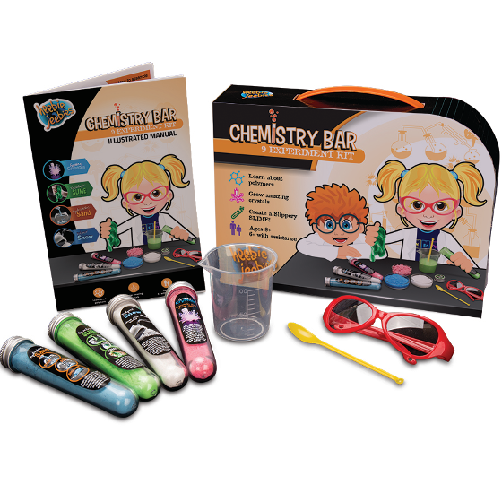 Chemistry Bar Science Kit - 9 Experiments