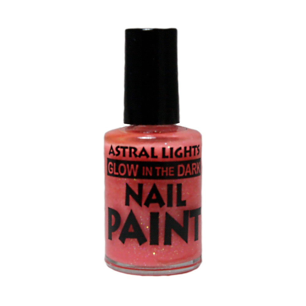 Glow in the Dark Nail Polish Astral Lights One Bottle of Pink - Off The Wall Toys and Gifts