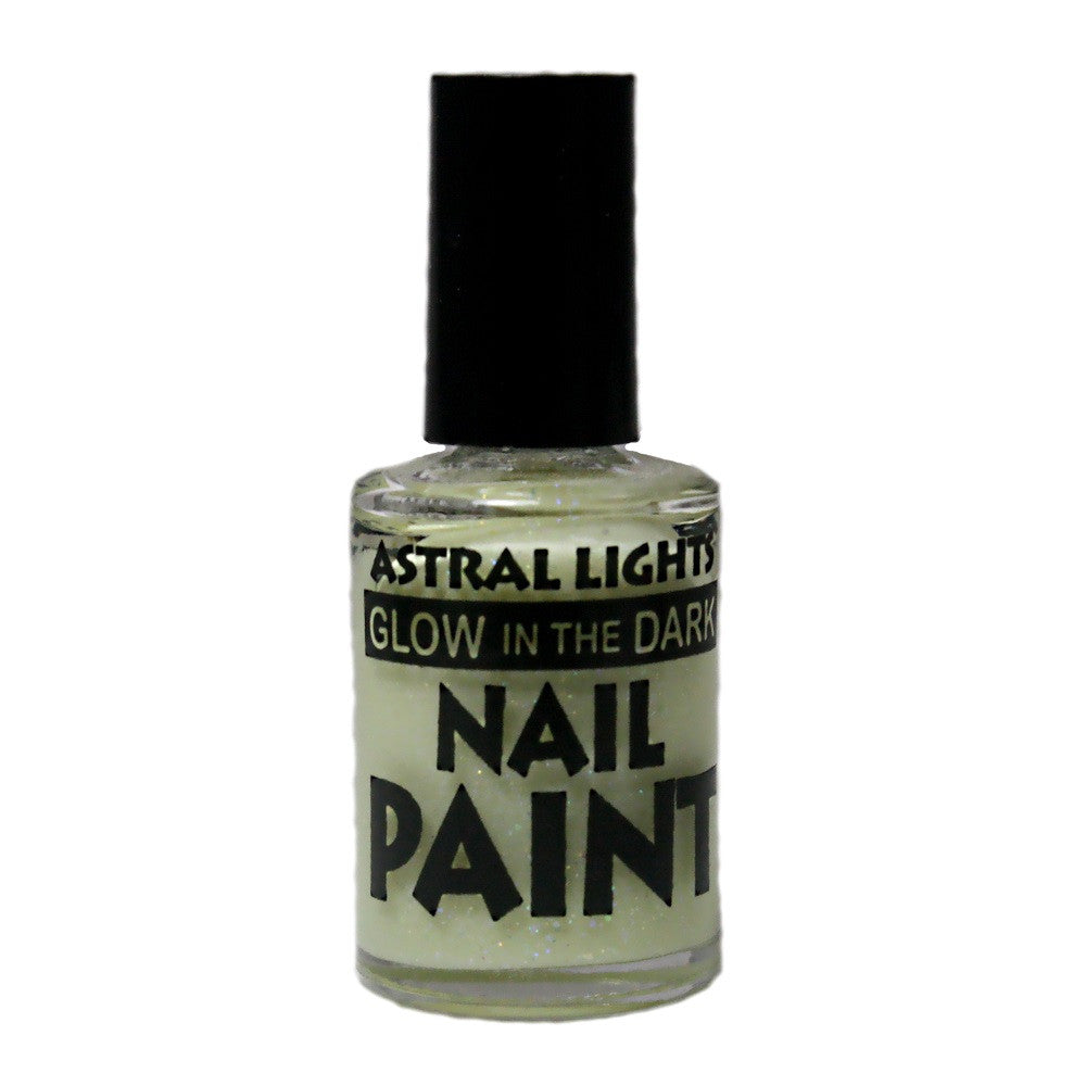 Glow in the Dark Nail Polish Astral Lights One Bottle of White - Off The Wall Toys and Gifts