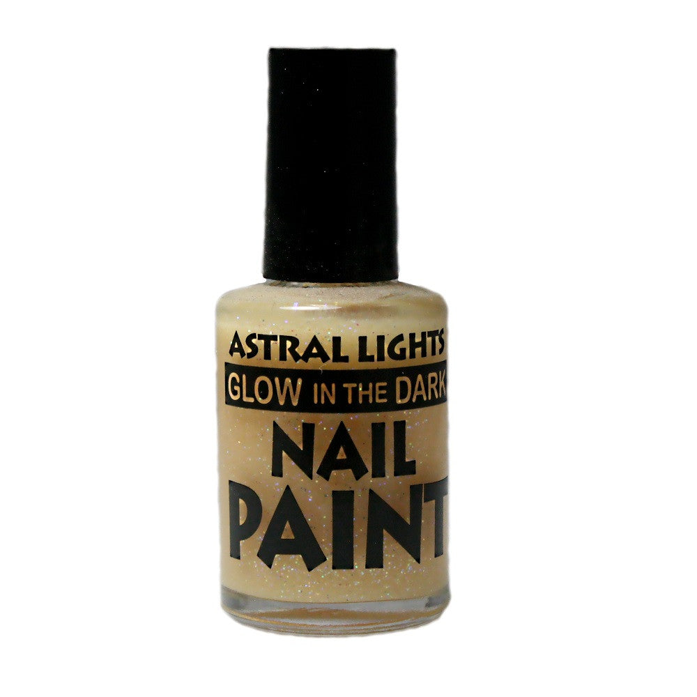Glow in the Dark Nail Polish Astral Lights One Bottle of Tangerine