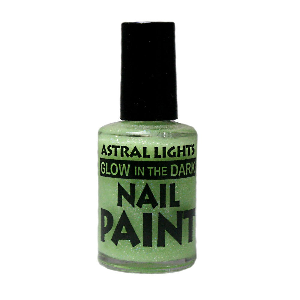 Glow in the Dark Nail Polish Astral Lights One Bottle of Green