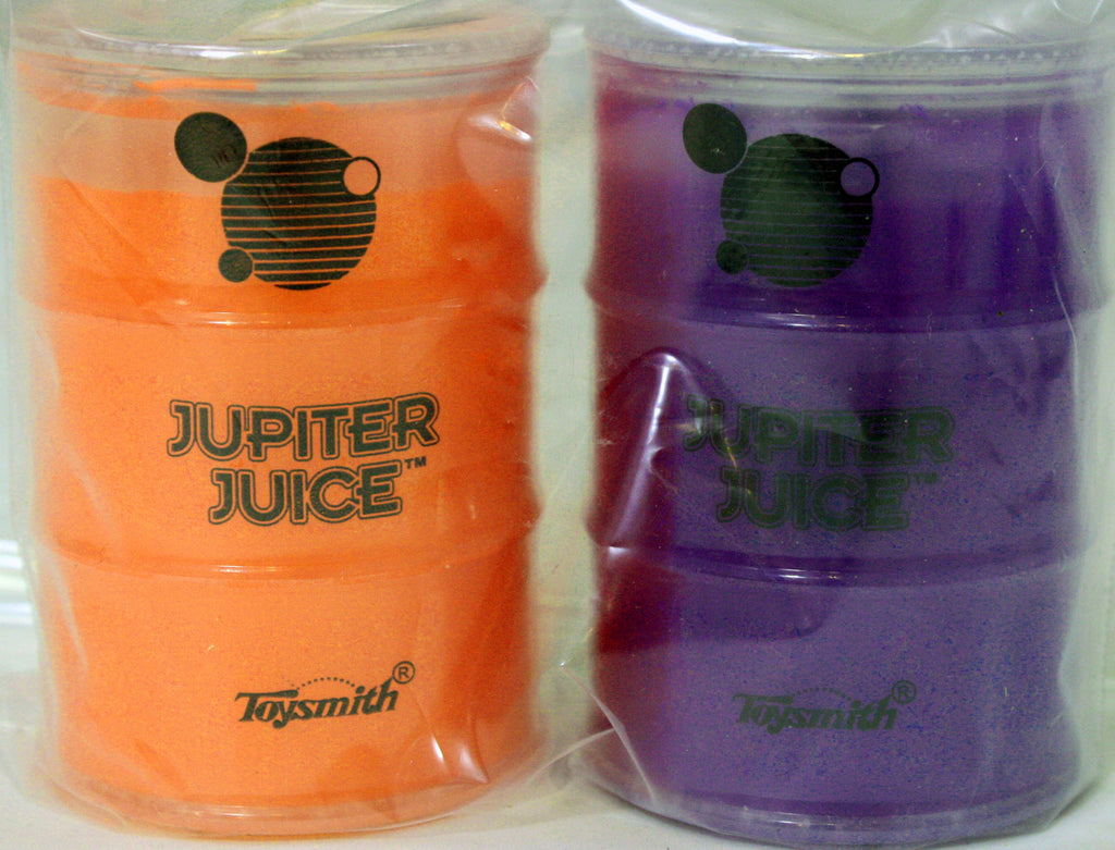 Jupiter Juice Slime Pack of 2- Purple and Orange Ooze