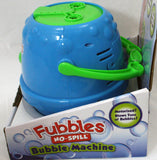 Blue/Green Fubbles No-Spill Bubble Machine By Little Kids