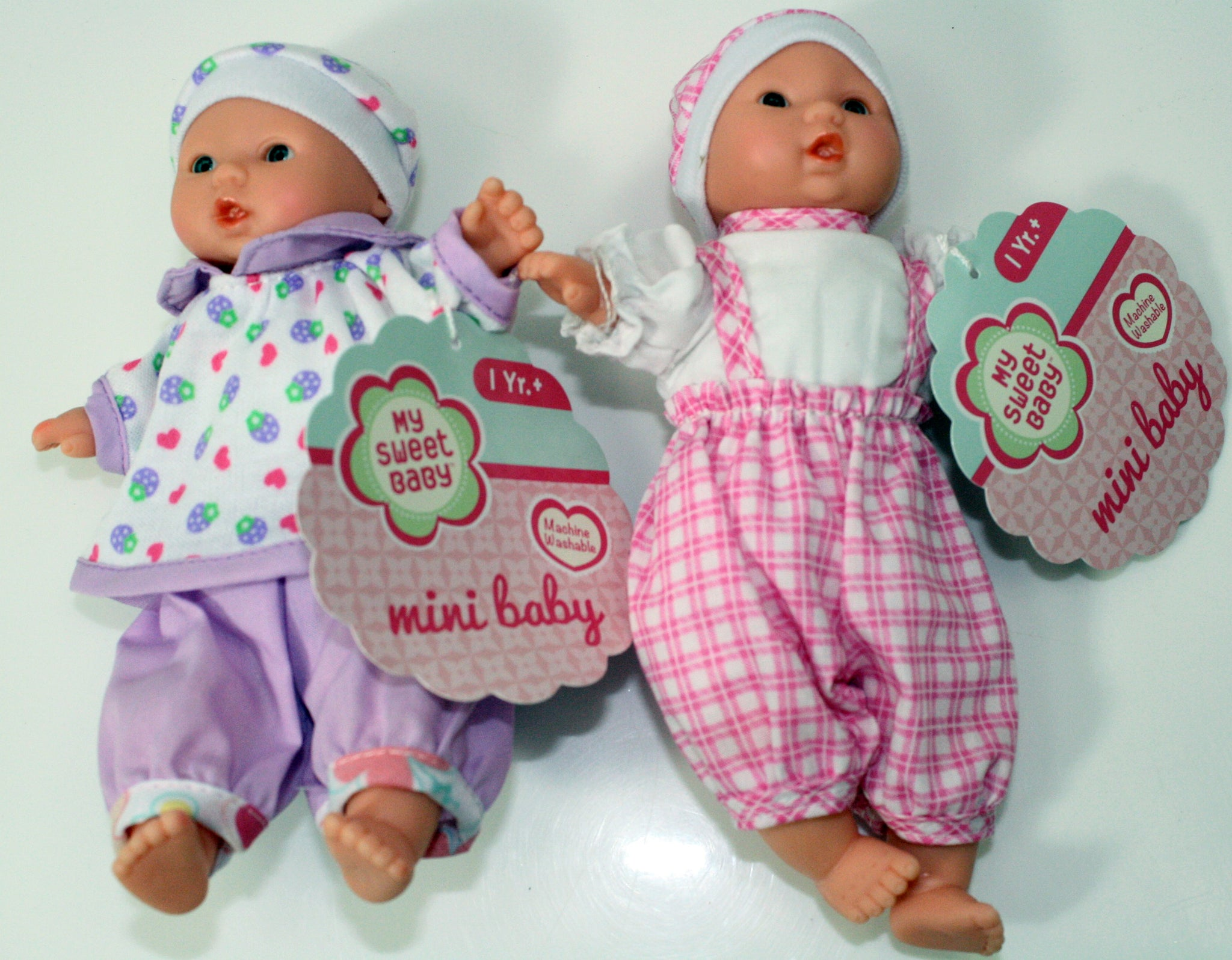 my sweet baby mini doll set of 2 by toysmith off the wall toys and