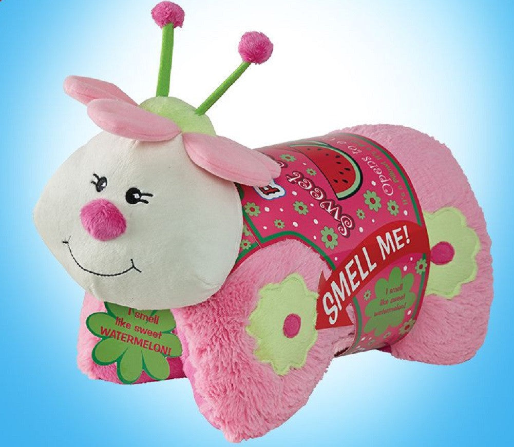 Sweet Scented My Pillow Pets Plush - Watermelon Ladybug - Off The Wall Toys and Gifts