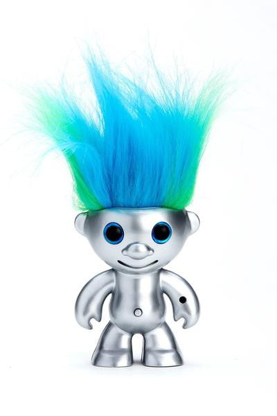 ElektroKidz - Matte Silver - Dancing Hair Toy by WowWee