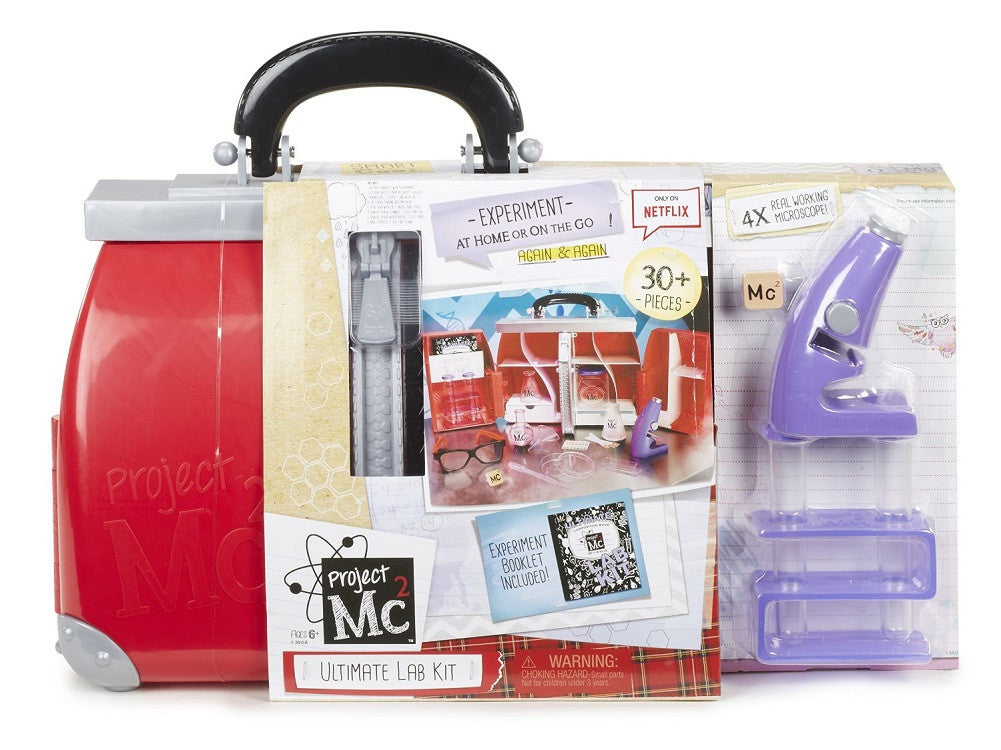 Project MC2 Ultimate 30 PC Lab Kit w/ Real Microscope