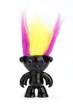 ElektroKidz - Shiny Black - Dancing Hair Troll Doll Toy by WowWee - Off The Wall Toys and Gifts