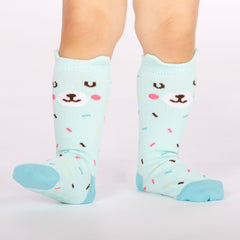 Sock It To Me Bearly Sprinkled Toddler Knee Socks
