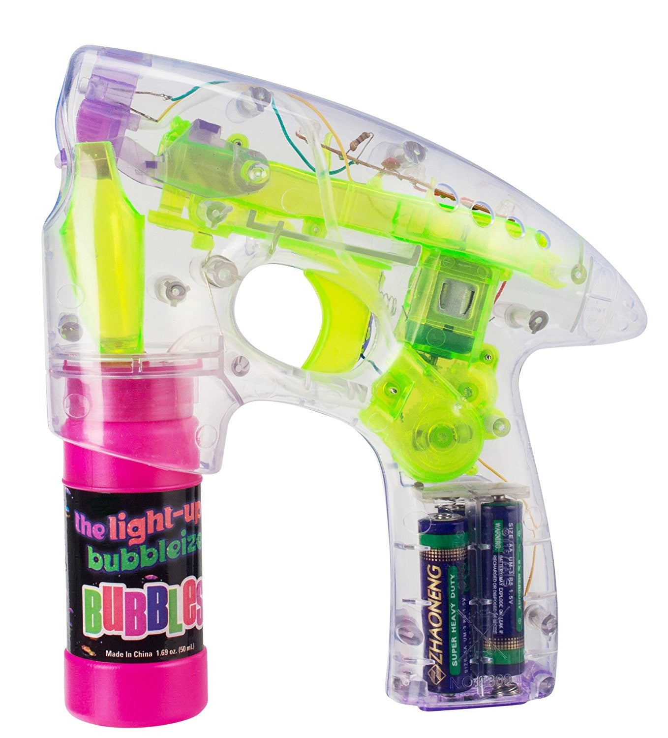 Light-Up Bubbleizer Bubbles Blaster