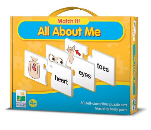 Match It! ALL ABOUT ME Activity-30 Puzzle Pairs - Off The Wall Toys and Gifts