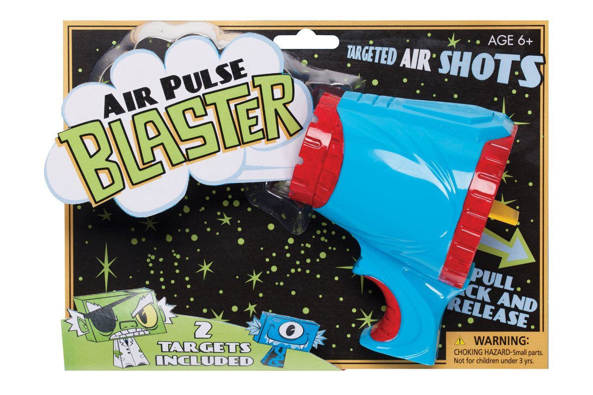 Air Pulse Blaster Gun w/ 2 Targets by Hog Wild - Off The Wall Toys and Gifts