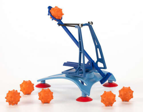 Air Strike Catapult - with 6 Spiked Foam Balls - Off The Wall Toys and Gifts