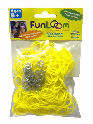 FunLoom 300 Alex's Lemonade Stand Yellow Sparkle Scented Bands - Off The Wall Toys and Gifts