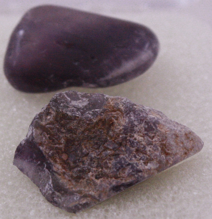 Amethyst Mineral - Set of Two Rocks - Off The Wall Toys and Gifts
