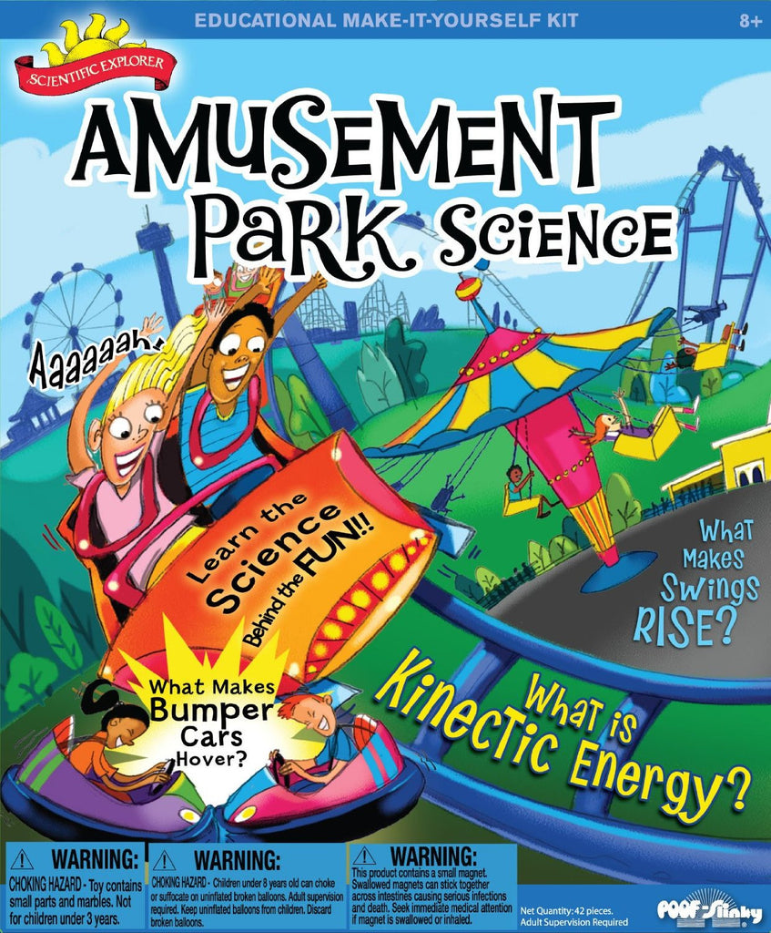 Educational Amusement Park Science Kit Scientific Explorer