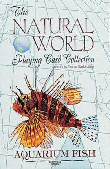AQUARIUM FISH of the Natural World Deck of Art Playing Cards - Off The Wall Toys and Gifts