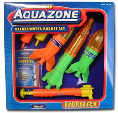 Hydrotech AquaZone Deluxe Water Rocket Set Just Fill and Pump
