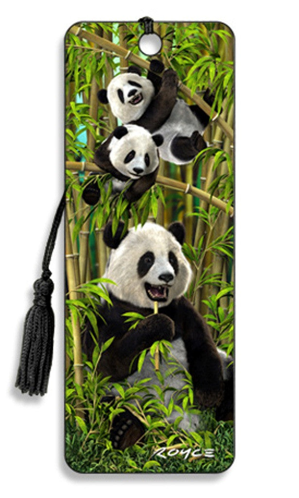 Pandas 3D Lenticular Bookmark by Artgame - Off The Wall Toys and Gifts