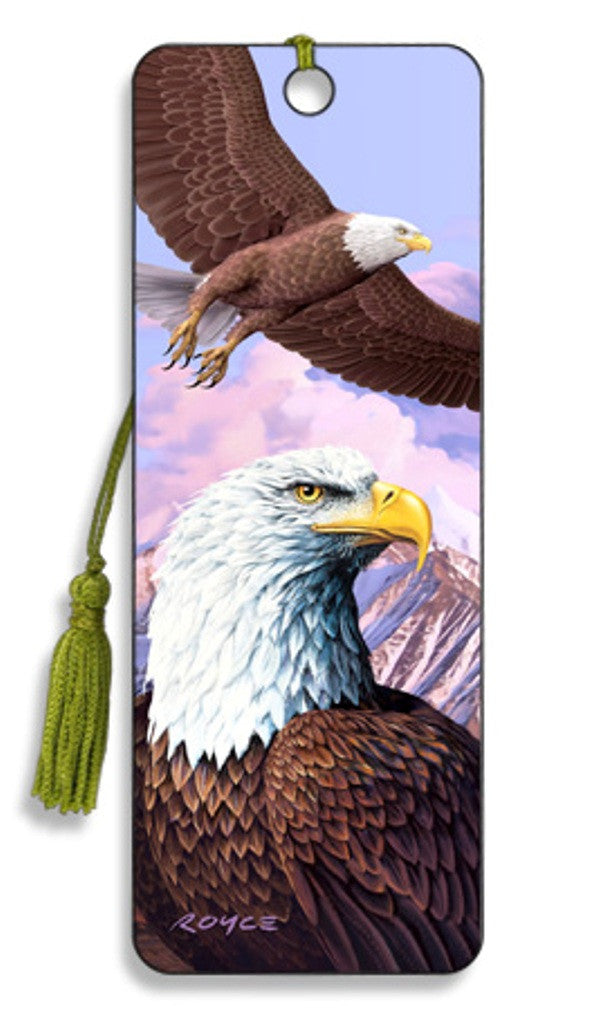 Eagles 3D Lenticular Bookmark by Artgame - Off The Wall Toys and Gifts