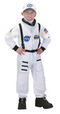 Jr. Astronaut White Suit with Embroidered Cap - Child Size 12-14 - Off The Wall Toys and Gifts