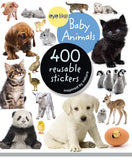 Eyelike Sticker Book: Baby Animals w/400 Reusable Stickers - Off The Wall Toys and Gifts