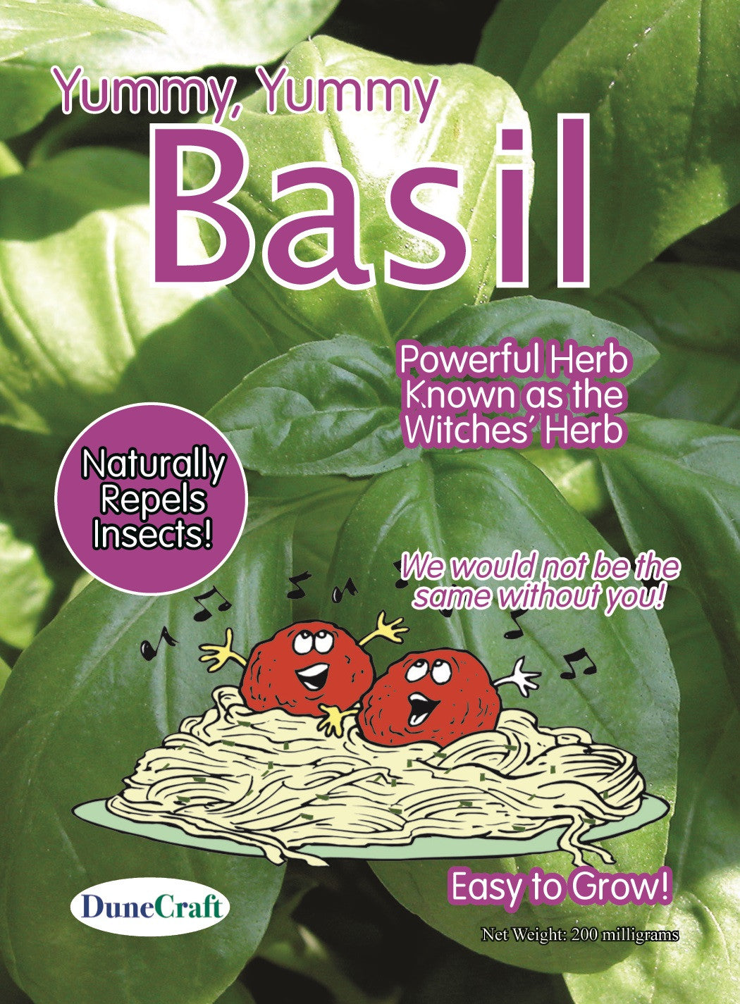 Basil Seed Pack CLEARANCE - Off The Wall Toys and Gifts