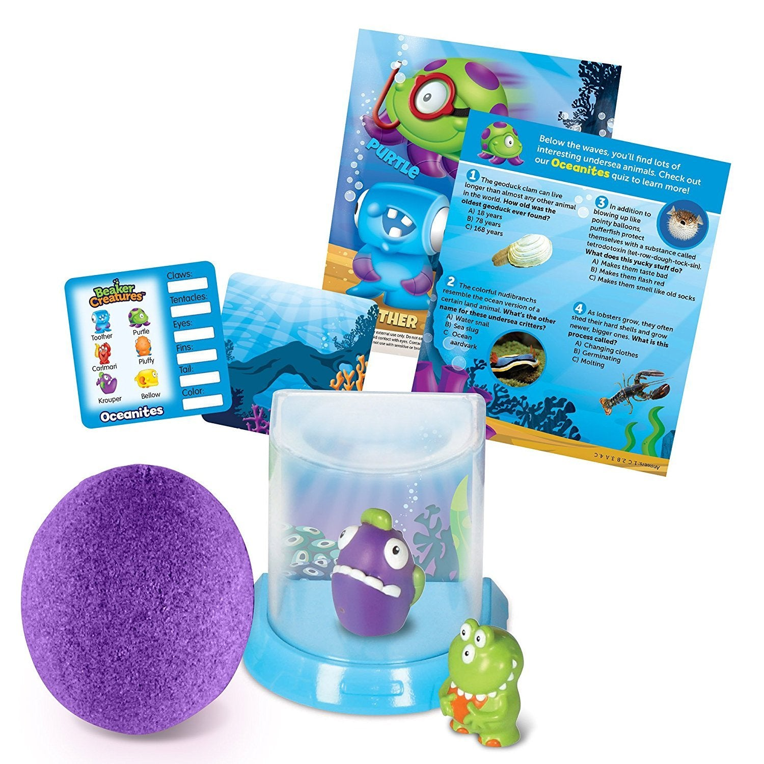Learning Resources Beaker Creatures 2-Pack with Bio-Home