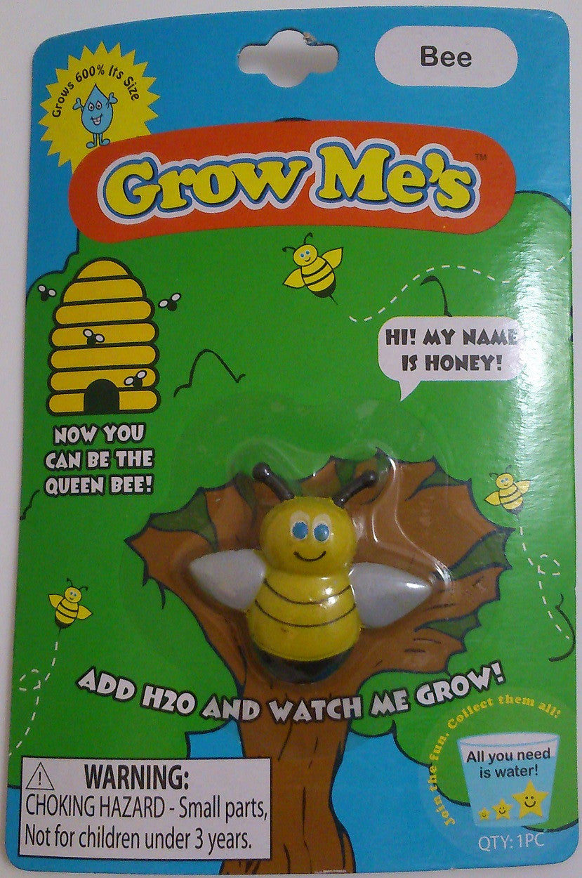 Grow Me's Bee: Collectible Magic Growing Thing - Off The Wall Toys and Gifts