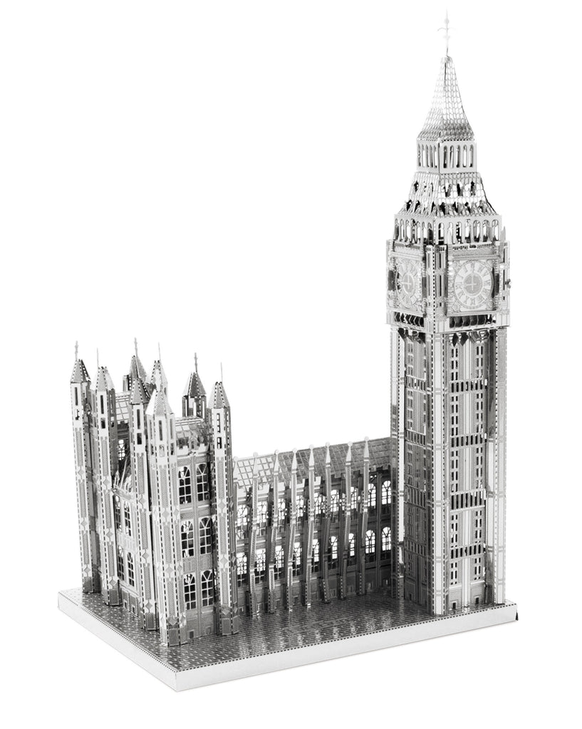 ICONX Big Ben Clock Tower & Palace of Westminster 3D Laser Cut Model