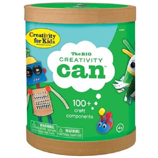 Creativity for Kids- Big Creativity Can Kit - By Faber-Castell - Off The Wall Toys and Gifts