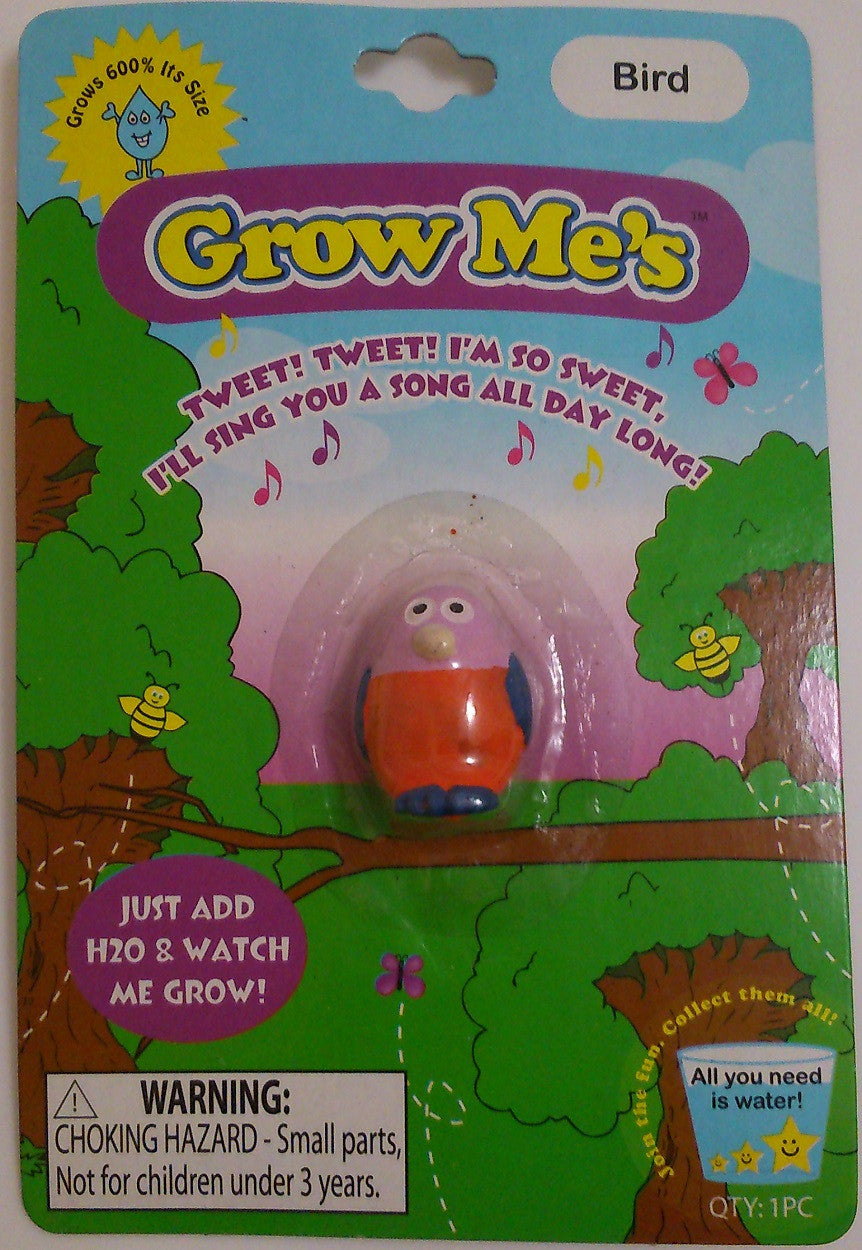 Grow Me's BIRD: Collectible Magic Growing Thing - Off The Wall Toys and Gifts