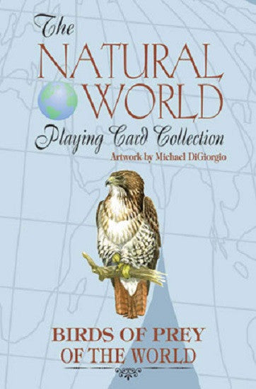 Birds of Prey of the Natural World Deck of Art Playing Cards