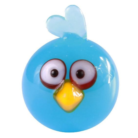 Looking Glass Torch Figurine Angry Birds Mini Blue Bird-Limited Edition - Off The Wall Toys and Gifts