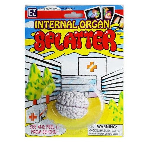 Splat Ball Internal Organ Splatter - Brain